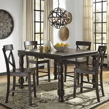 extendable dining room table by signature design by ashley. signature design by ashley gerlane counter height extendable dining table \u0026 reviews | wayfair room e