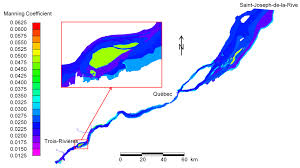 Work Chart 401 Quebec 2017 Hydrodynamic Modeling Of The St Lawrence Fluvial Estuary I