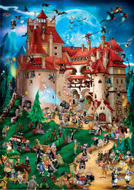Up to a certain point jigsaws were. Cartoon Collection Transylvania Puzzlewarehouse Com Halloween Jigsaw Puzzles Jigsaw Puzzles Cartoon Puzzle