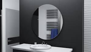 Runder Badspiegel Mit Led Beleuchtung Anas Glaswerk24