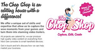 the chopshop capture edit create