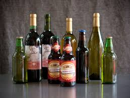 diy tips how to center a bottle label