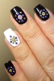 Wendy's Delights: Abstract Adhesive Nail Stickers from Nail Art UK
