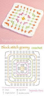 Block Stitch Crochet Pattern Simple Decorating Design