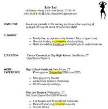 education high school resume writing a good resume student exercise education world