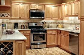 Awesome Light Maple Cabinets With Granite And Light Maple Cabinets
