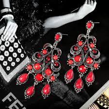 resin chandelier earrings