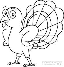 running turkey clipart black and white. Running Turkey Clipart Black And White Inside