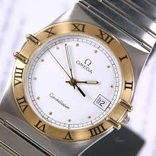 25 best ideas about omega constellation vintage 1991 vintage omega constellation cal 1438 quartz white dial date men s dress watch by lkwatch on
