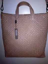 falor made in italy taupe hand woven intrecciato leather tote handbag f2050 from falor