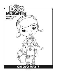 Printable Doc Mcstuffins Coloring Pages Free Mcstuffins Printables