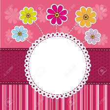 Cute Template Cute Template Greeting Card Background Vector Illustration Royalty