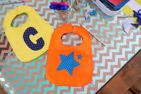 Decorate Baby Bibs Domestic Fashionista 19 Iron On Baby Onesie Bib Ideas