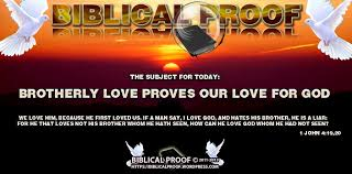 brotherly love proves our love for god biblical proof brotherly love proves our love for god