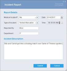 Incident Report Appstore