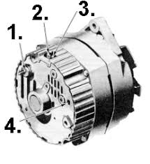 wiring a delco gm alternator alternator