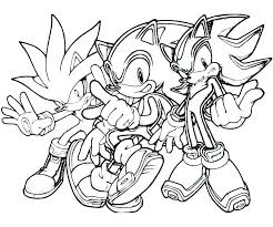 Sonic And Tails Coloring Pages Breathtaking Sonic The Hedgehog