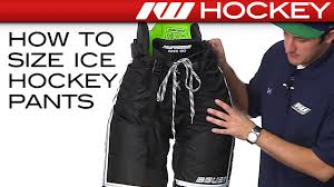 Bauer Hockey Gloves Size Chart How To Size Ice Hockey Pants