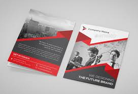 Free Sample Flyers New Bifold Flyer Template Ceriunicaasl