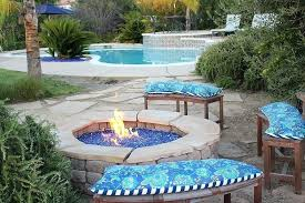 outdoor fire pit glass stones fire pit blocks outdoor fire pit glass stones fireplace glass decorating