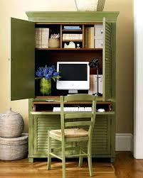 ... Ergonomic Hide Away Desk For Home Design Medium Size Of Computer  Hideaway Desks Office L Desktop ...