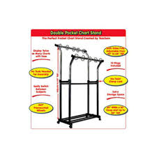 Extra Wide Pocket Chart Carson Dellosa Cd 158004 Double Pocket Chart Stand Bo Til June 2007