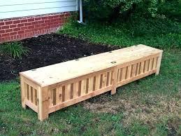 vast outdoor cushion storage bench n5428169 outdoor bench bench outdoor patio storage bench plans deck box