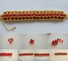 dashing diy beaded bracelet in crossing paths step by step tutorial