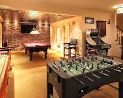 game room design ideas masculine game. Basement Game Room Ideas For Well Home Design . Gaming Masculine A