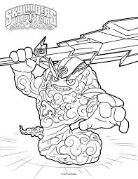 Small Picture Skylanders trap team coloring pages thunder bolt ColoringStar