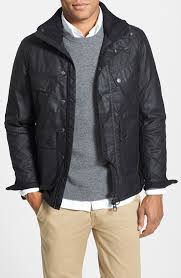 Barbour 'Trail' Quilted Waxed Cotton Jacket | Nordstrom & Main Image - Barbour 'Trail' Quilted Waxed Cotton Jacket Adamdwight.com