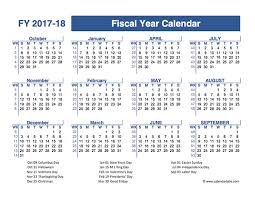 Calendar Year Quarters 2017 Fiscal Year Quarters Template Free Printable Templates