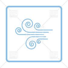 frame design vector. Plain Design Blue Frame Design Of Wind Icon Vector Image U2013 Artwork Icons And  Emblems  In Frame Design