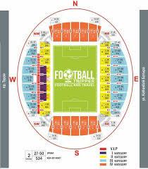 Royal Arena Denmark Seating Chart Astana Arena Kazakhstan National Stadium Football Tripper
