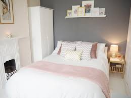 Pink And Grey Bedroom Decor Grey Bedroom White Custom Low Profile Queen Bed Feat Open