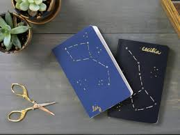 diy stocking stuffer make cute constellation notebooks for all your friends