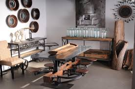 industrial home furniture. NYC Home Staging Guru Scans Trends At The NY NOW Show Industrial Furniture