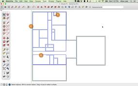 draw floor plan sketchup from field measurements design tutorial interior home creator blueprint free simple house designs your plans new room planner build