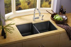 Granite Single Bowl Kitchen Sink Kitchen Awesome Kitchen Sink Faucet Design With Stainless Steel