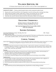 Medical surgical nurse resume berathen com for Registered nurse resume  medical surgical .