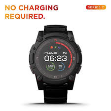 Powerwatch 2 Body Heat Powered Fitness Tracker Smart Watch 200m Dive Gps Calorie And Step Count Iphone Samsung Compatible