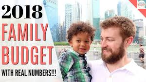 Budgeting For A Family Of 4 Our 2018 Family Budget With Real Numbers How We Budget For A Whole