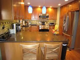 Kitchen Island Granite Top Breakfast Bar Kitchen Island Bar Table Furniture Square Silver Stainless Steel