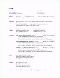 Resume Template Word 2007 57 Concepts You Have To Know