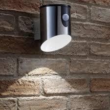 outdoor battery wall light