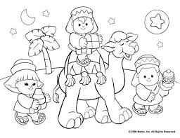 Christmas Coloring Sheets For Kids Religious Coloring Pics For