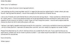 Dental Nurse Cover Letters Dental Nurse Cover Letter Example Cover Letters Cover