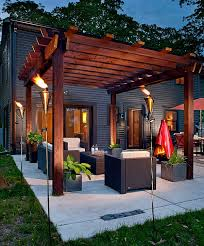 outdoor inspiration cool tiki torches to light up your magical evenings