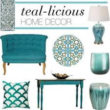 Small Picture Teal decorative accents