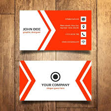Red Business Card Template Free Vector Name Psd Download Wedding